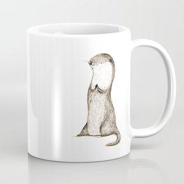 Sitting Otter Coffee Mug