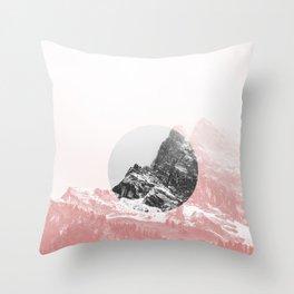 Mountain 01 Throw Pillow