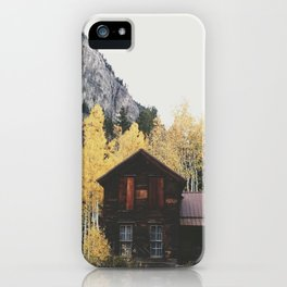 Crystal Cabin iPhone Case