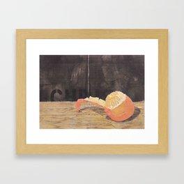 The peel  Framed Art Print