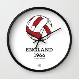 England 1966 Wall Clock