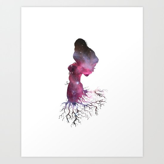 Rooted In The Stars Art Print
