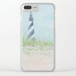 Cape Hatteras Lighthouse Clear iPhone Case