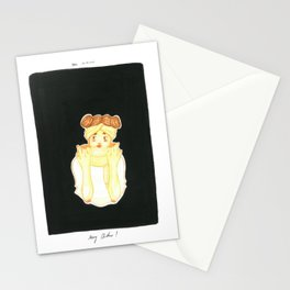 Christmas Girl Stationery Cards