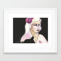 jane davenport Framed Art Prints featuring Green Eyed by Jane Davenport by Jane Davenport