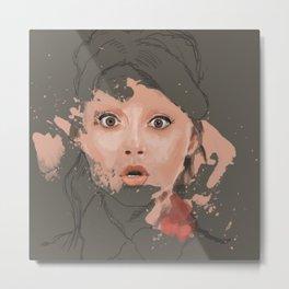 Splash portrait Metal Print