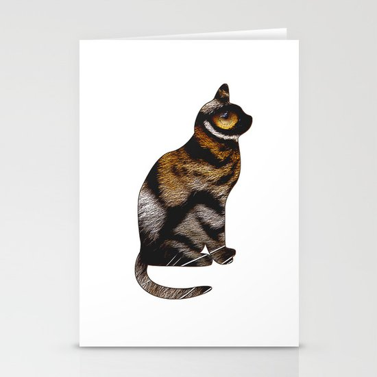 THE TIGER WITHIN Stationery Cards