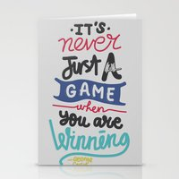 game Stationery Cards featuring GAME by eugeniaclara