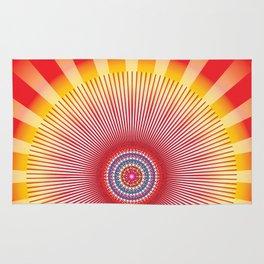 Sun Mandala - מנדלה שמש נצחית Rug