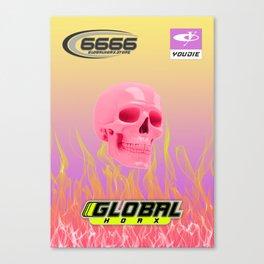 Global Hoax Club Canvas Print