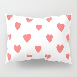 Hearts Pillow Sham