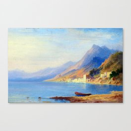 Carl Morgenstern Southern Coastline Canvas Print