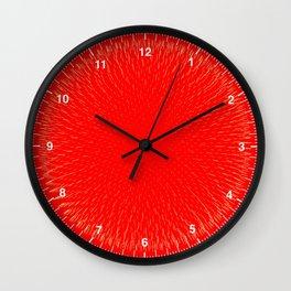 Fibo Orb Blood Wall Clock