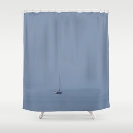 The Lost Horizon Shower Curtain
