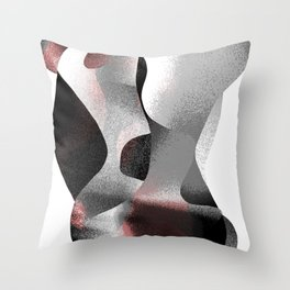 The Embrace 02 Throw Pillow