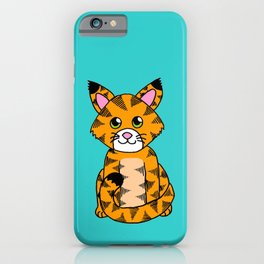 Little ginger tabby iPhone Case