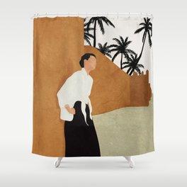 Backbone Shower Curtain