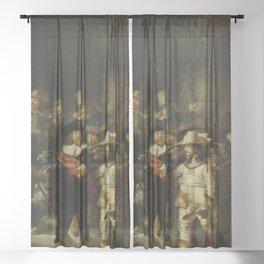 Night Watch Sheer Curtain