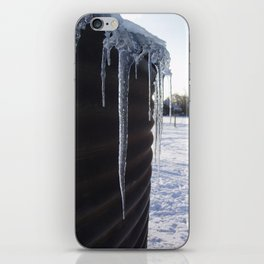 Icicles.  iPhone Skin