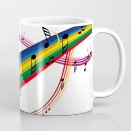 Colorido pentagrama Coffee Mug