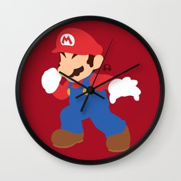Mario(Smash) Wall Clock