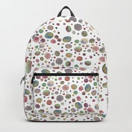 Tropical dots pattern Backpack