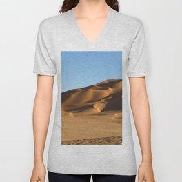 Sand Dunes Sahara Desert Landscape 13 Unisex V-Neck