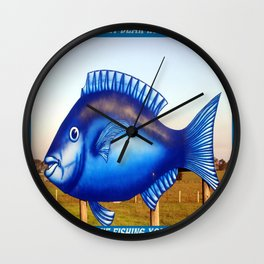 To my dear Wife - Gone Fishing :) Wall Clock