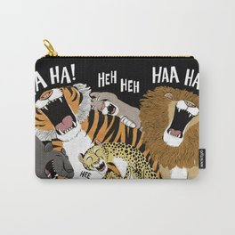 Big Cats Laughing Carry-All Pouch