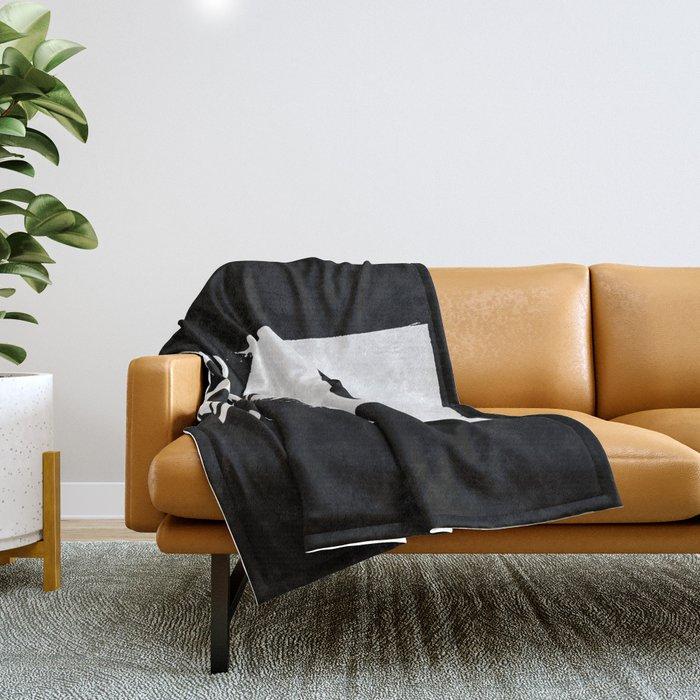 Get In Loser Throw Blanket
