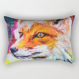 Fox Colors Rectangular Pillow