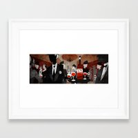 wine Framed Art Prints featuring Wine by c.billadeau