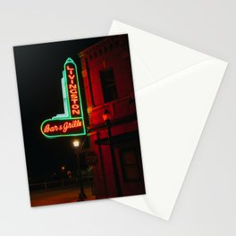 Bar & Grille - Livingston, MT Stationery Cards