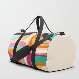 Psychedelic pattern 01 Duffle Bag