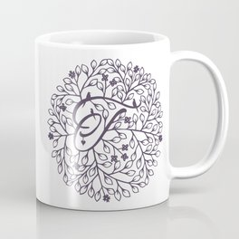 T - monogrammed initial T print Coffee Mug