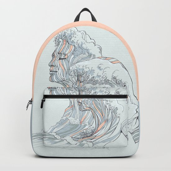 BREATHE DEEPLY Backpack