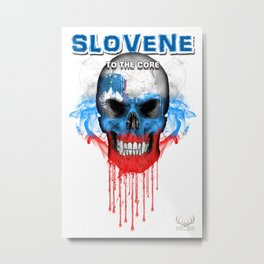 To The Core Collection: Slovenia Metal Print