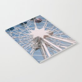 Colourful Ferry Wheel Notebook
