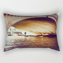 Rialto Bridge, Venice Italy Rectangular Pillow
