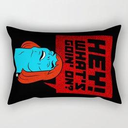 Faker: Hey-man official bootleg Rectangular Pillow