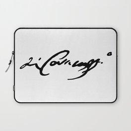 Caravaggio's Signature Laptop Sleeve