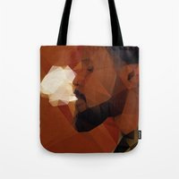 django Tote Bags featuring Django by David