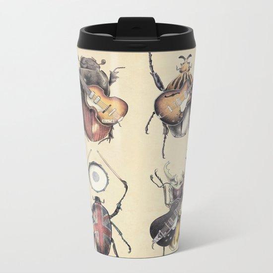Meet the Beetles Metal Travel Mug