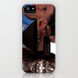 Possessed Regan from The Exorcist and Forrest Gump iPhone Case