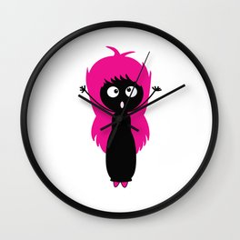 Hay! I Am Here Wall Clock
