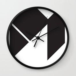 Material Logo Wall Clock