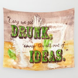 Dos Tequilas, Por Favor Wall Tapestry