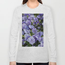 Pansy flower Long Sleeve T-shirt