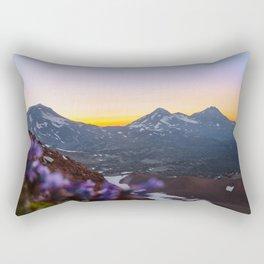 3 Sisters Sunset Rectangular Pillow