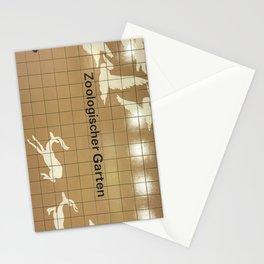 Berlin U-Bahn Memories - Zoologischer Garten Stationery Cards